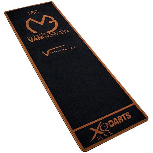 XQMAX Turnier-Matte 237x80cm - Dartmatte - Dartteppich - Tuniermatte - Michael van Gerwen