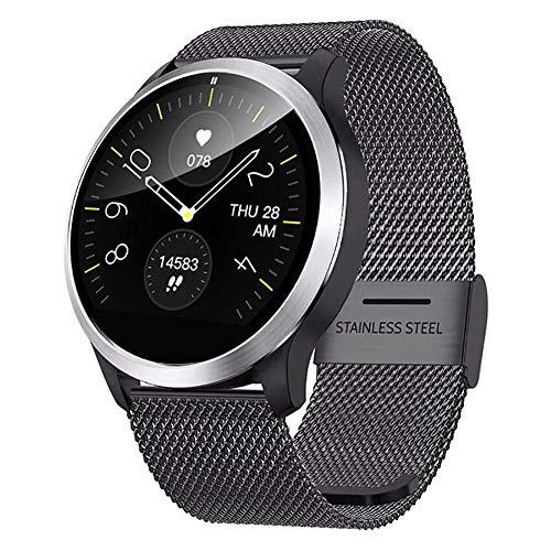 QKa Smart Watch con Diagramma di Riproduzione ECG e misuratore della Pressione arteriosa, Bracciale...
