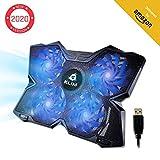KLIMTM Wind + Base de refrigeración para portátil + La más Potente + Refrigerador portátil de 4...