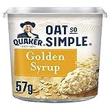 Quaker Oat So Simple Express Pot Golden Syrup Porridge 57 g (Pack of 8)