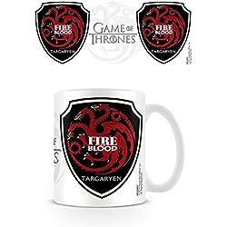 Juego De Tronos - Casa Targaryen, Fuego Y Sangre Taza Foto (9 x 8cm)