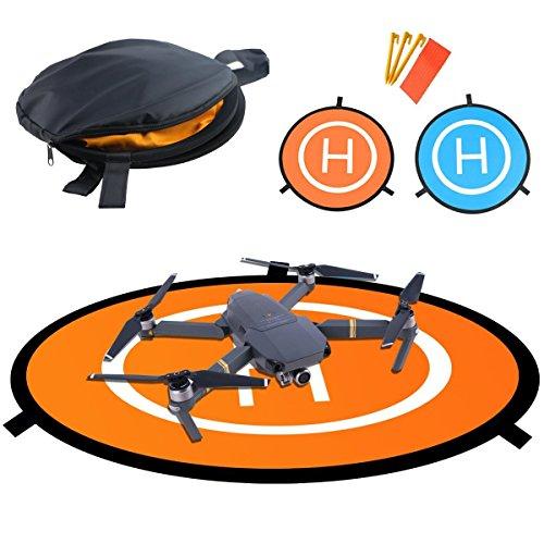 Expresstech @ Pad di Atterraggio Landing Pad 75cm Helipad Dronepad Superficie di Atterraggio...