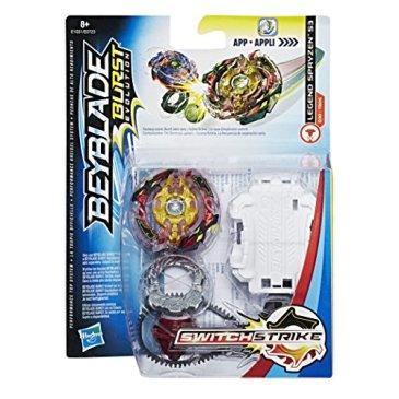 Beyblade – Starter Pack Toupie et Lanceur Beyblade Burst SwitchStrike– Spryzen S3