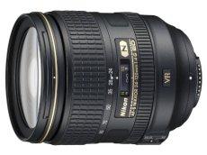 Nikon AF-S 24-120mm F4 ED VR - Objetivo para Nikon (distancia focal 36-180mm, apertura f/4, zoom óptico 5x,estabilizador) color negro