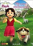 Heidi. Libro para colorear. La vida en el prado