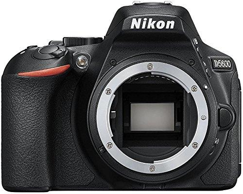 Nikon D5600 24.2MP CMOS 6000 x 4000Pixeles Negro - Cámara digital (Cuerpo de la cámara SLR, CMOS, 6000 x 4000 Pixeles, 6000 x 4000, 4496 x 3000, 2992 x 2000, 23,5 x 15,6 mm, DX)