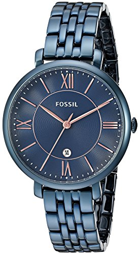 Fossil Jacqueline Analog Blue Dial Women's Watch-ES4094
