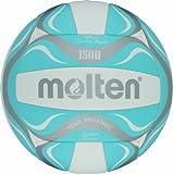 Molten, Pallone da beach volley, Bianco (WEISS/BLAU/SILBER), Misura 5