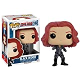 Funko - POP Marvel - Cap America 3 - Black Widow