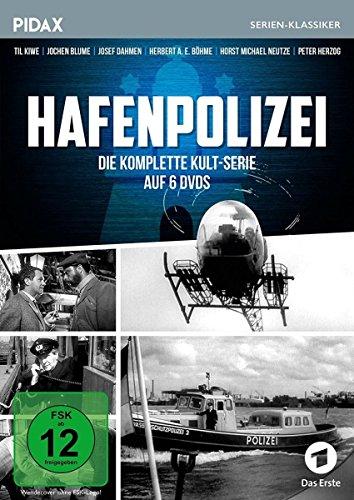 Hafenpolizei / Die komplette Kultserie (Pidax Serien-Klassiker) [6 DVDs]