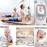 Babyphone mit Kamera Video Überwachung Baby Monitor Wireless 3.2