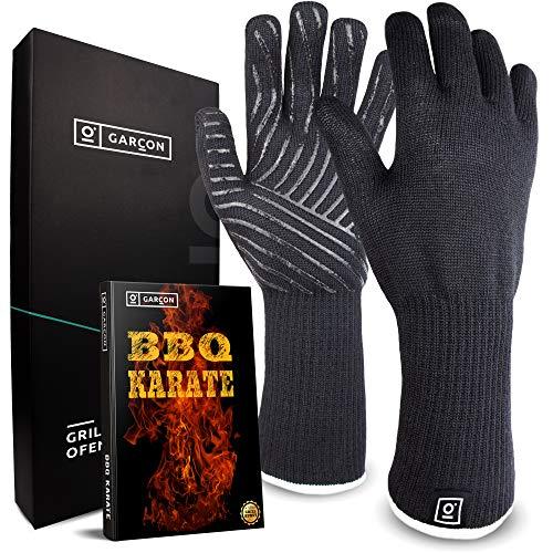 Paio di guanti premium da cucina, griglia o forno, ignifughi, resistenti al calore fino a 500°C,...