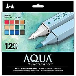 Spectrum Noir Aqua, plástico, Crema, 19 x 18.4 x 2.1 cm