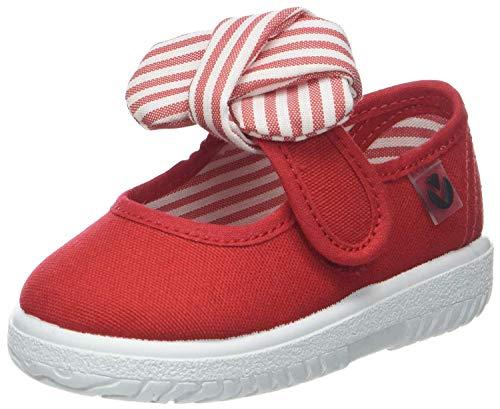 victoria Mercedes Lona Pañuelo, Sneaker Unisex - Bambini, Rosso (Rojo), 27 EU