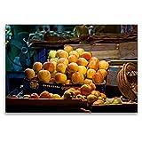 CALVENDO Toile Textile de qualité supérieure 120 x 80 cm - Pied de Fruits - Inde - Tableau sur châssis - Impression sur Toile véritable ORTE