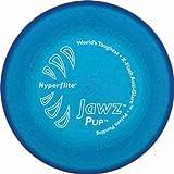 Hyperflite Jawz Frisbee pour petit chien résistant aux mordillements Bleu