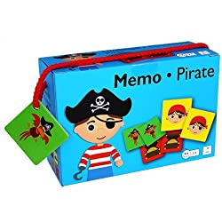Barbo Toys Classic Barbo Toys Memo Game Piratas 5931