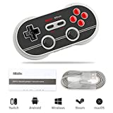 8bitdo Manette Sans Fil Android, N30 PRO 2 Gamepad Bluetooth pour PC / Android / Switch / MacOS / Steam
