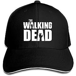 hittings Eternal The Walking Dead Sandwich Peaked Gorra de béisbol Black