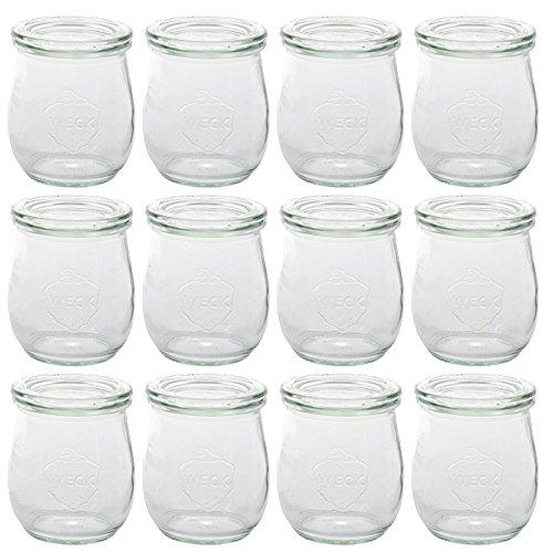 Einkochglas mit Glasdeckel