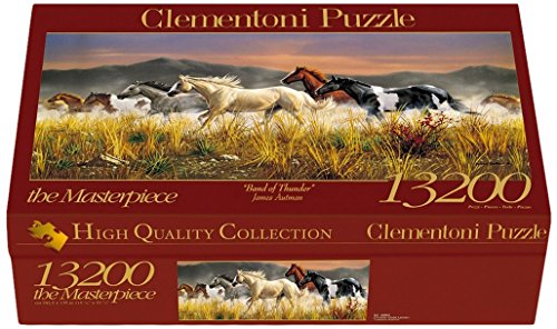 Clementoni - 38006 - High Quality Collection Puzzle - Band of Thunder - 13200 Pezzi