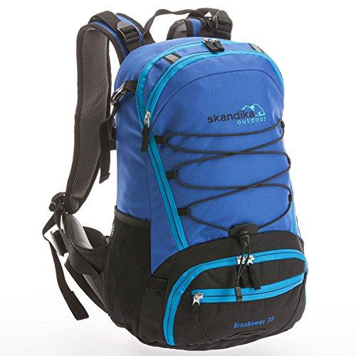 skandika Breakaway - Mochila de día/Senderismo 25 l, Color Azul