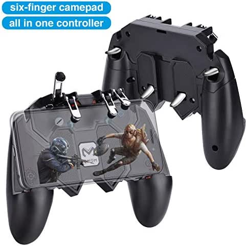 HEYSTOP PUBG Mobile Game Controller Sechs Finger All-in-One,
