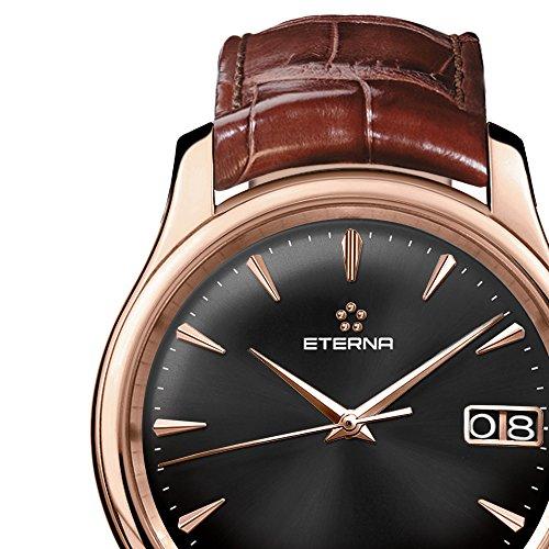 Eterna Herren – Armbanduhr Vaughan Analog Automatik 7630.69.51.1185 - 3