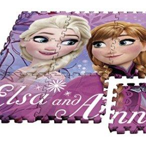 Kids Alfombra Puzzle Frozen, 90 x 90 cm (WD17627)