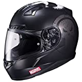HJC CL-17 Motorcycle Helmet Marvel Series The Punisher Black Large by HJC Helmets