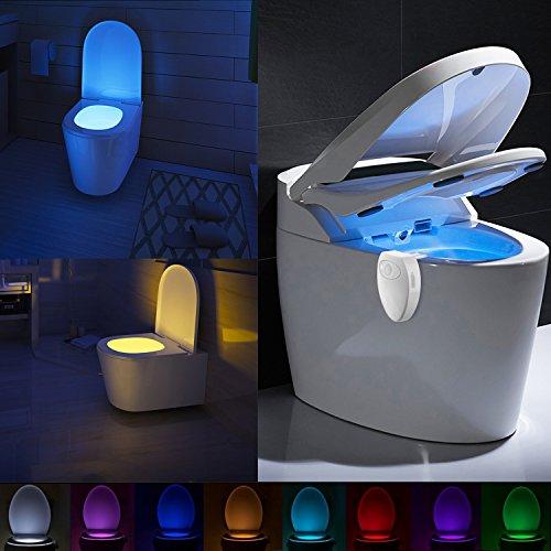 Lampada da Toilette Ricaricabile con Design Impermeabile di Lennystone Lampada da Toilette Notturna...