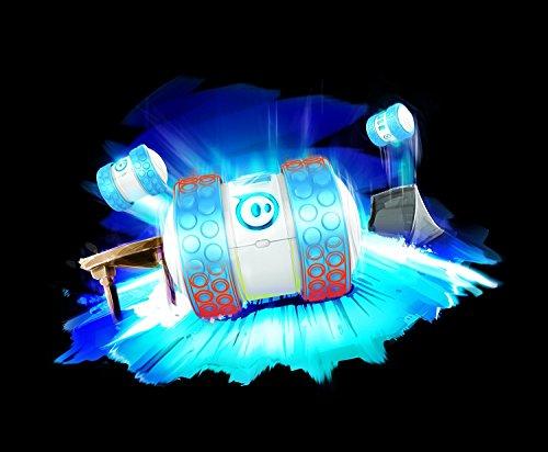 51GK0TRbizL - Orbotix Ollie 1B01ROW - Robot controlado por móvil (Bluetooth, USB, compatible con iOS y Android), blanco y azul