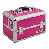 Aluminium-Multikoffer Etagenkoffer Pink