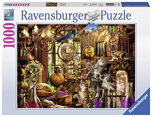 Ravensburger 19834 - Laboratorio Di Merlino Puzzle, 1000 Pezzi