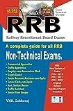 RRB Railway Recruitment Board Non-Technical Exams Book
