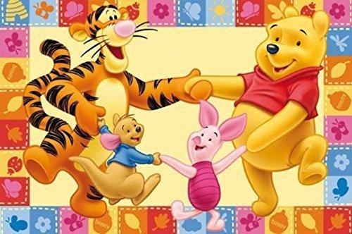 Bavaria Home Style Collection Disney - Tappeto da Gioco per Bambini, Motivo: Winnie The Pooh, 100 x...