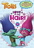 Love Is in the Hair! (DreamWorks Trolls) (Color and Paint Plus Stickers)