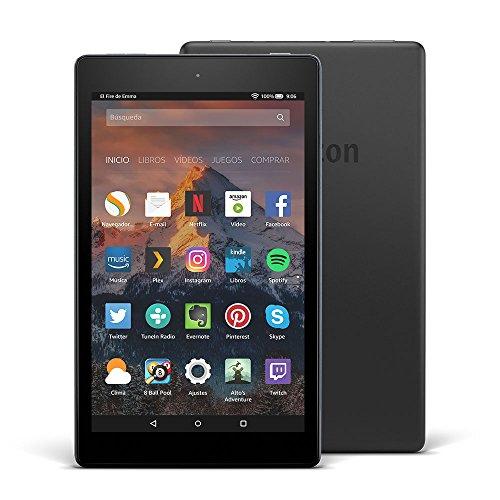 Nuevo tablet Fire HD 8, pantalla de 8'' (20,3 cm), 32 GB (Negro) - Incluye ofertas especiales