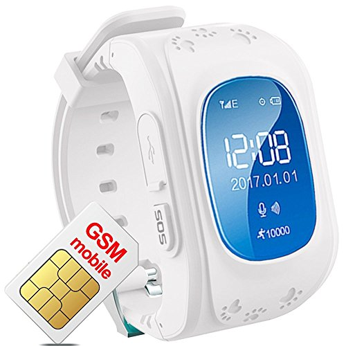 Hangang Smartwatch GPS Tracker Kids GPS Bambini Safe Smart Watch SOS Chiamata Location Finder...