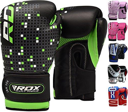 RDX Guantoni Boxe Bambini Muay Thai Bimbo Guanti da Sacco Junior Sparring Allenamento Kickboxing...