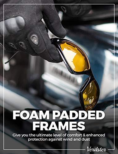 Verdster-Gafas-de-sol-POLARIZADAS-TourDePro-Para-Hombres-y-Mujeres-Montura-Envolvente-Cmoda-con-Proteccin-UV-Incluye-un-estuche-funda-y-un-pauelo
