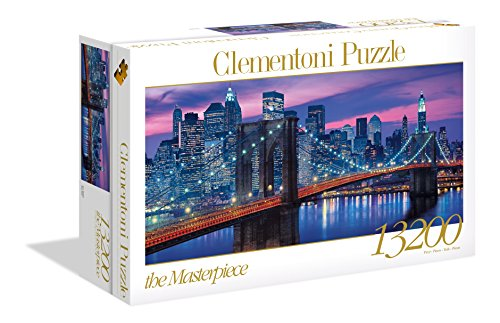 Clementoni - 38009 - High Quality Collection Puzzle - New York - 13200 Pezzi