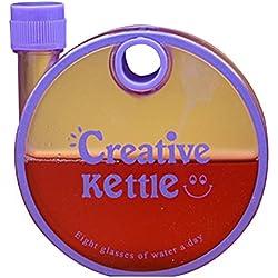 Etbotu Sport Wasserkocher, 350 ml Kreative Schnecke Design Sport Wasserkocher Portable Scrub Dichtung Dicht Runde Handliche Tasse