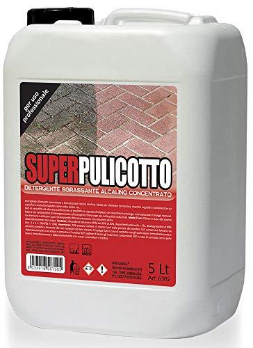 PROLINEA Super PULICOTTO - Detergente sgrassante alcalino concentrato (5LT)