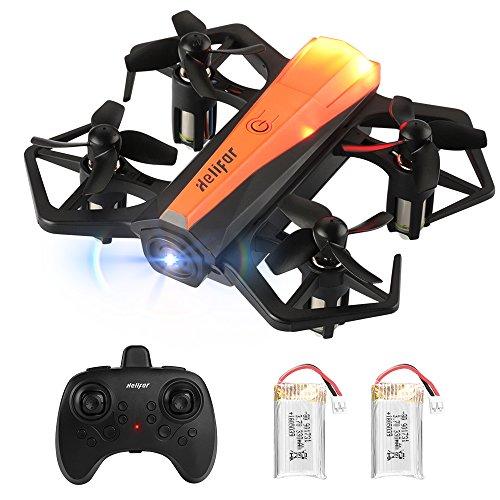 HELIFAR H802 Mini Drone, quadricottero RC con giroscopio a 6 Assi, Altitude Hold e Headless Mode,...