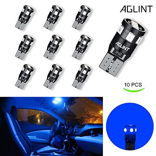 AGLINT T10 CANBUS LED Lampadine 12V W5W 194 168 2825 Cuneo Tipo Luci Dell'automobile Bulb 2835 9SMD...