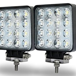 'Jiehe 4.548W 6000K-6500K Daylight LED Light Work Flood 60gradi angolo fascio di marcia lampada di nebbia per hors-route Furgone MTB SUV Jeep barca jh-7248gllfb