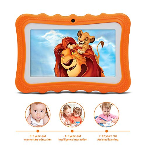 A1 Tablet per Bambini Android 8.1 OS, Display da 7 Pollici, 3G Tablet PC con Quad Core, 1 GB RAM+16...