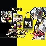 Persona 4 Arena Pack incluant jeu PS3, puzzle, insignes, porte-clés et sac en tissu Édition collector