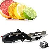 HomEquip Clever Küche Cutter Mehrzweck 2-in-1-Gadget | sparen Sie Zeit und mühelos Obst, Gemüse, Käse, Huhn & vieles mehr-inkl. Halterung, Farbe Handbuch und Geschenk-Box